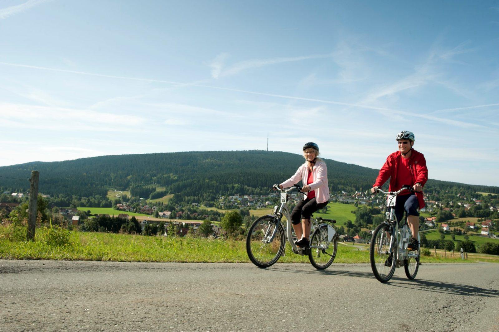 Radfahren im Naturpark Fichtelgebirge