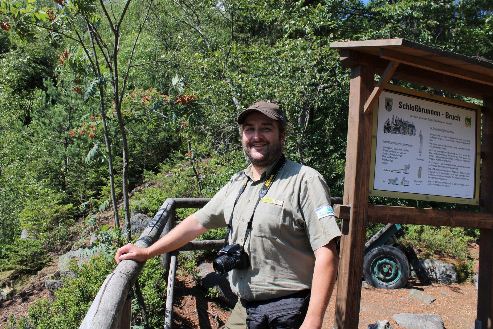 Andreas Hofmann, Naturpark Fichtelgebirge, Ranger