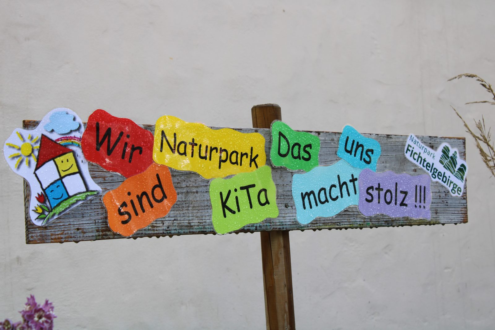 Naturpark-Kita Kunterbunt in Kirchenlamitz, Naturpark Fichtelgebirge