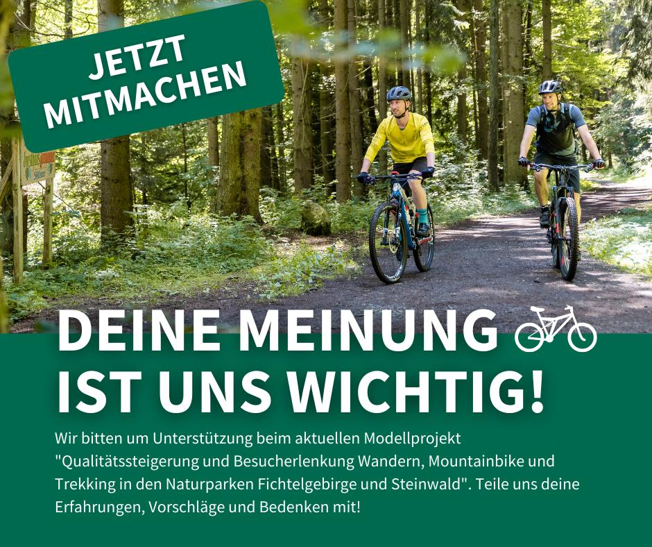 Modellprojekt-Qualitätssteigerung und Besucherlenkung Wandern, Mountainbike und Trekking in den Naturparken Fichtelgebirge und Steinwald