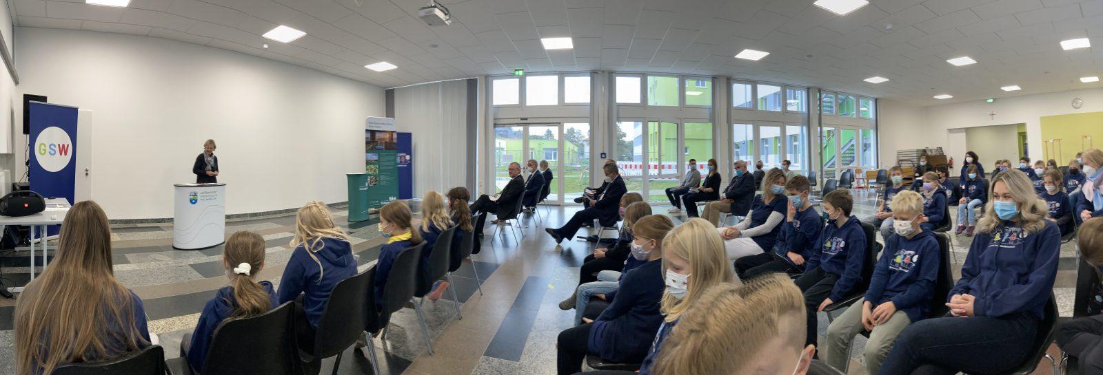 Zertifizierung Naturpark-Schule Grundschule Weißenstadt